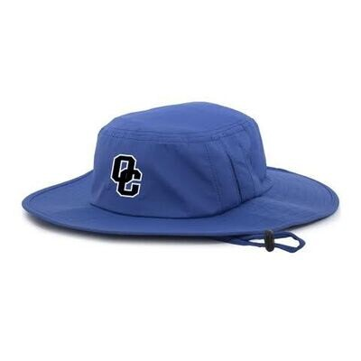 Manta Ray Boonie Hat Royal Blue Bucket Hat
