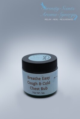 Breathe Easy Cough and Cold Chest Rub 1oz.
