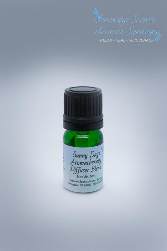 Sunny Days – Diffuser Blend – 5ml.  bottle