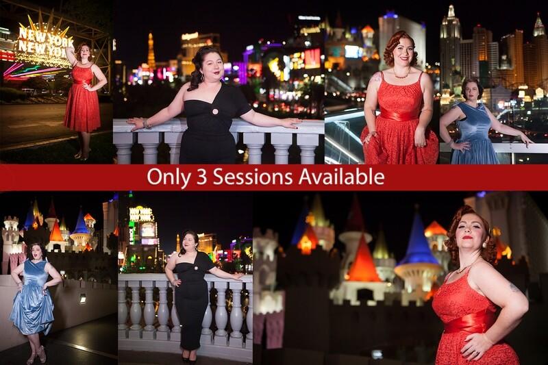 Sin City Siren: Moonlight Sessions | $149.00 Deposit