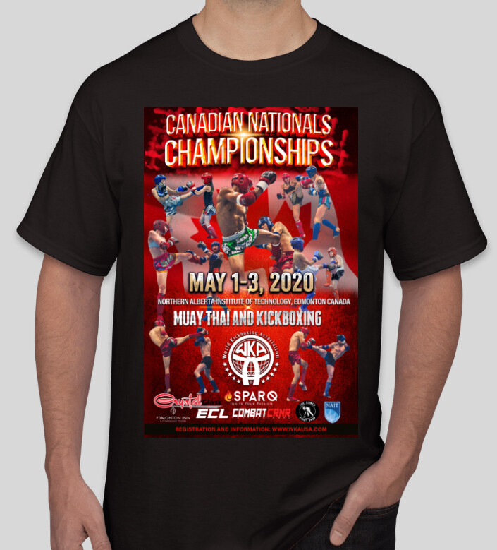 WKA CANADIAN NA 2020 T-Shirt