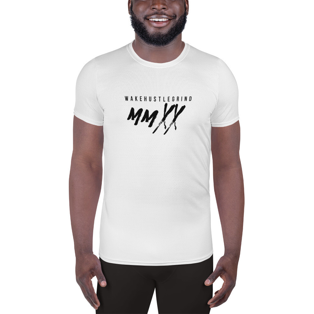 Out the Mud All-Over Print Men's Athletic T-shirt