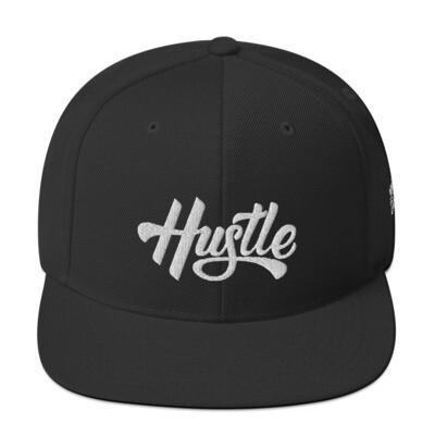 Hustle Script Snapback Hat