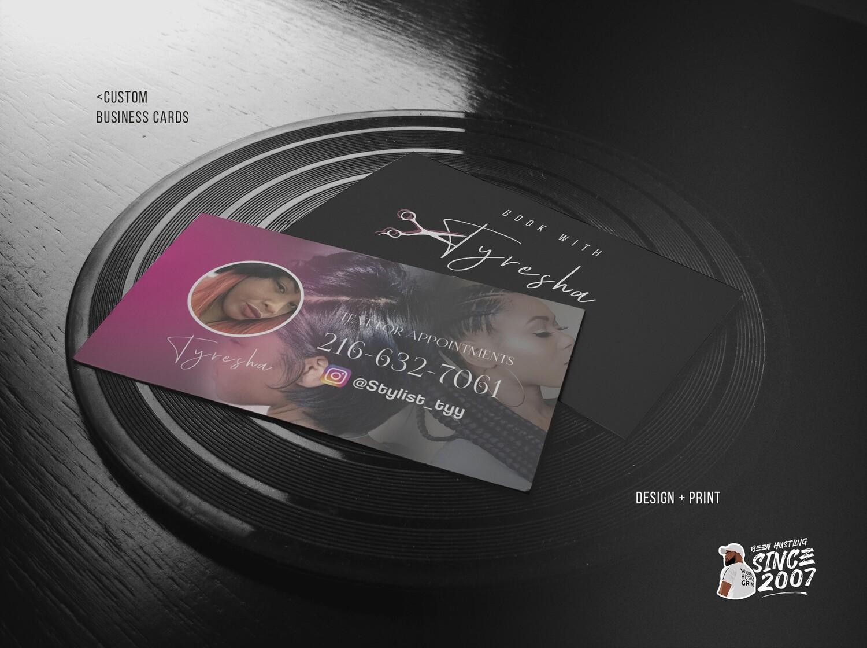 250 Business Cards 16pt Gloss