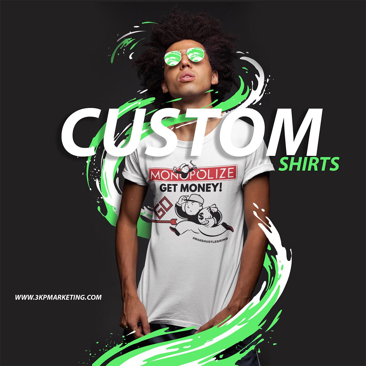 Custom T Shirt Free Shipping