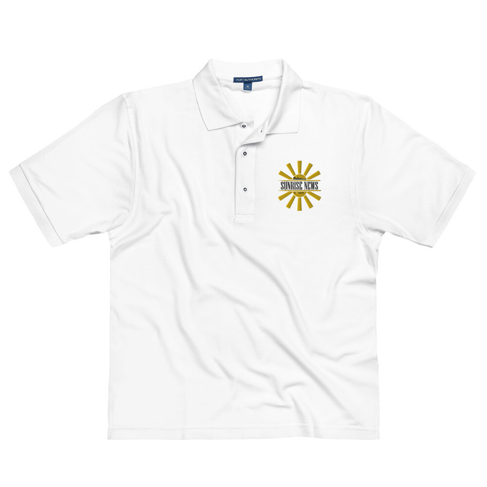 East Cleveland Sunrise News Men's Premium Polo