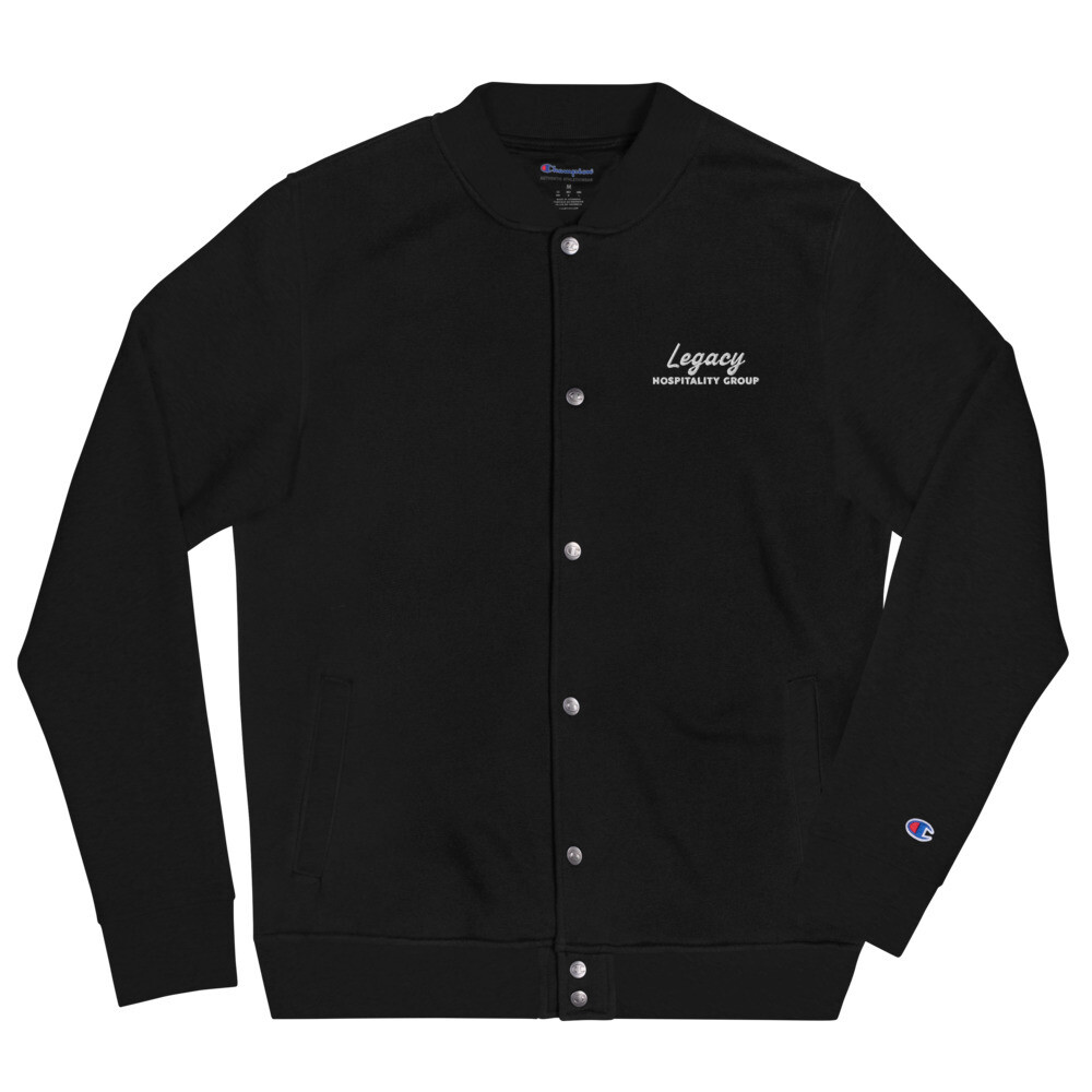 Legacy Embroidered Champion Bomber Jacket