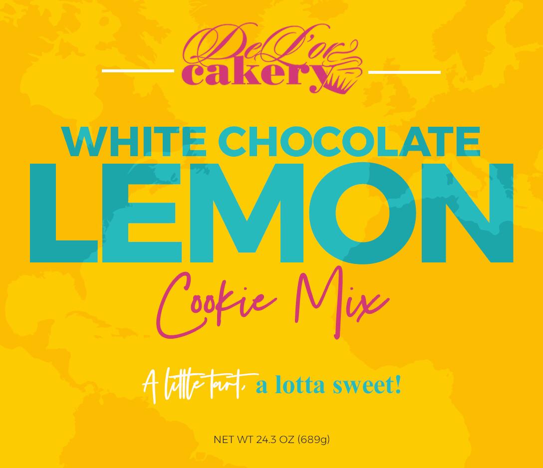 White Chocolate Lemon Cookie Mix