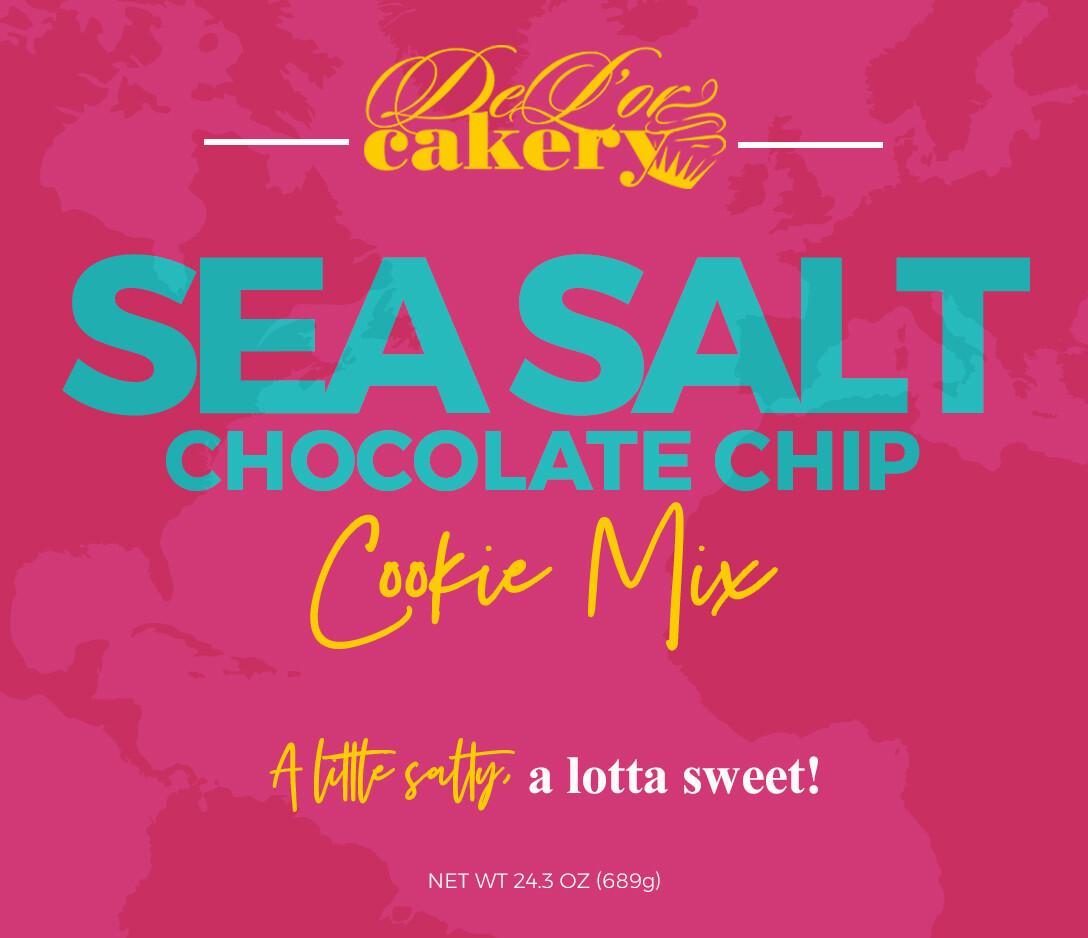 Sea Salt Chocolate Chip Cookie Mix