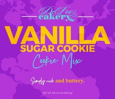 Vanilla Sugar Cookie Mix