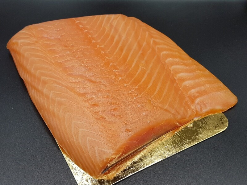RO Viking Smoked Salmon - Three pieces of 3-400g each (total approx 1kg)