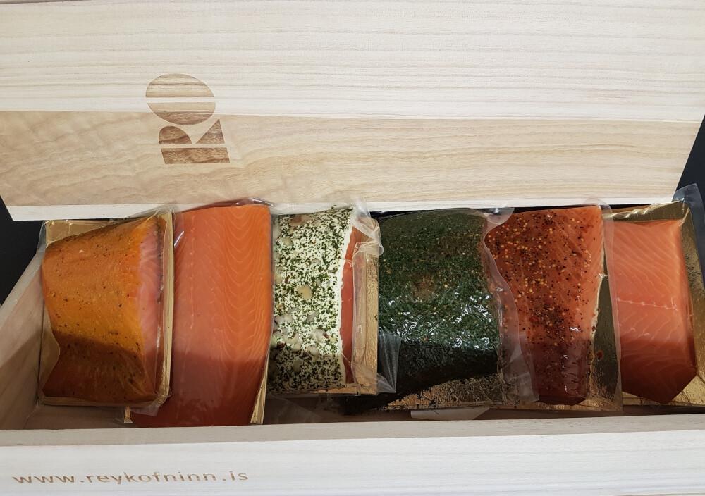 RO Salmon Selection box (2,1 - 2,3kg)
