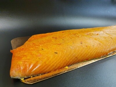 RO Pastrami smoked Salmon - Whole filet (950-1050g)