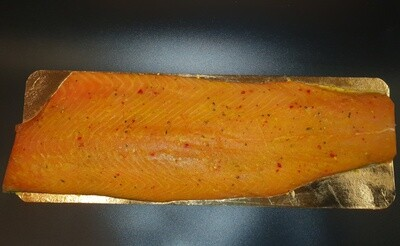 RO Pastrami smoked Salmon - Whole filet (1050-1150g)