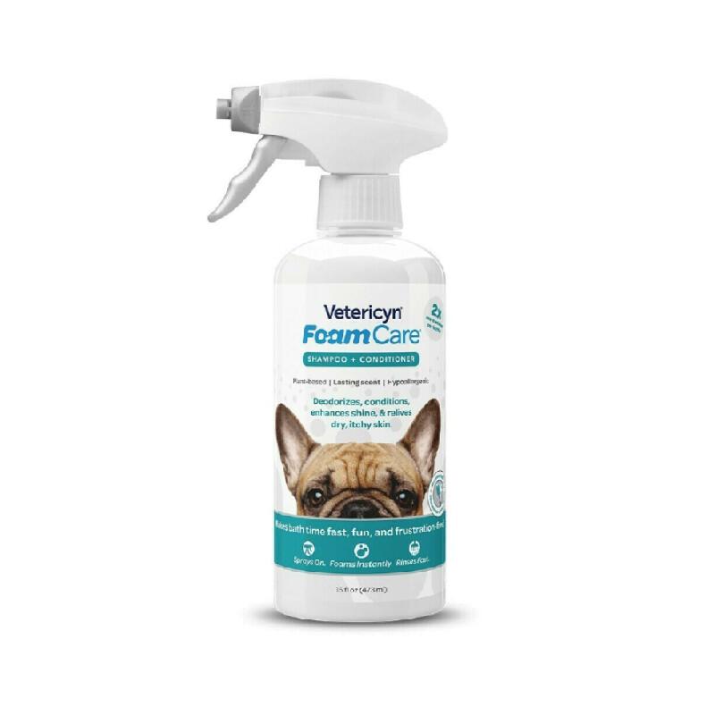 Vetericyn Foamcare Shampoo 473 mL