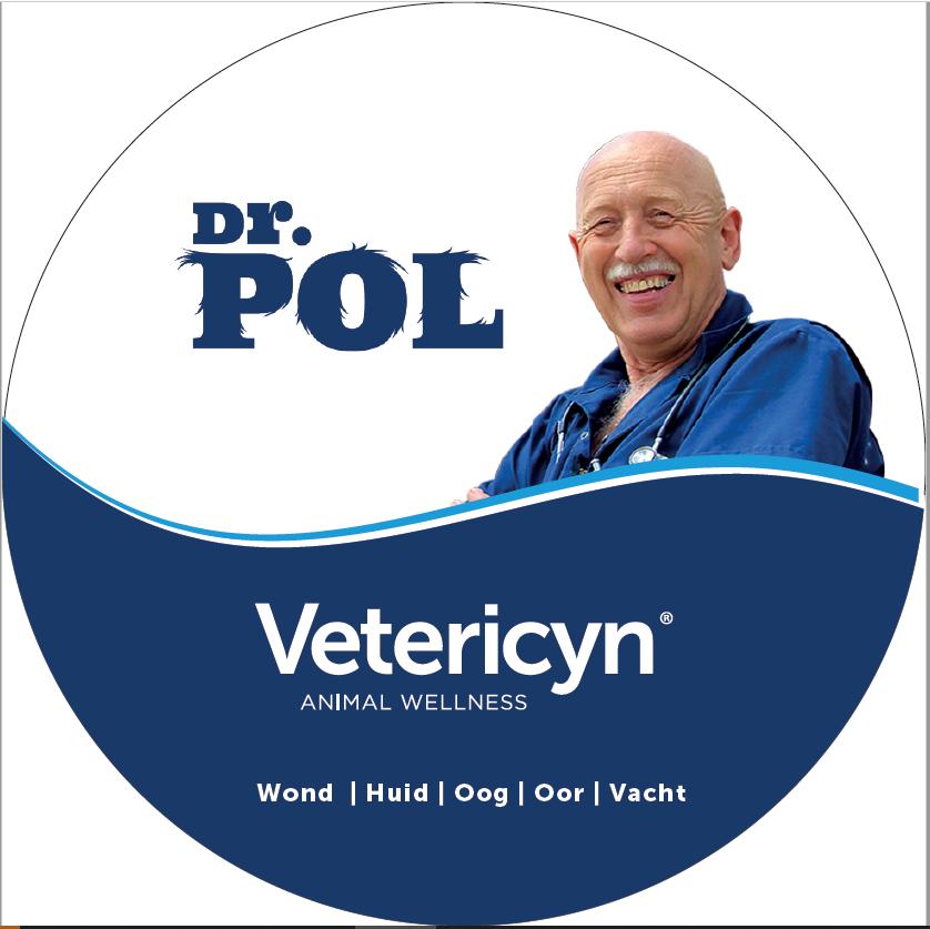 Dr. Pol & Vetericyn (raam) sticker