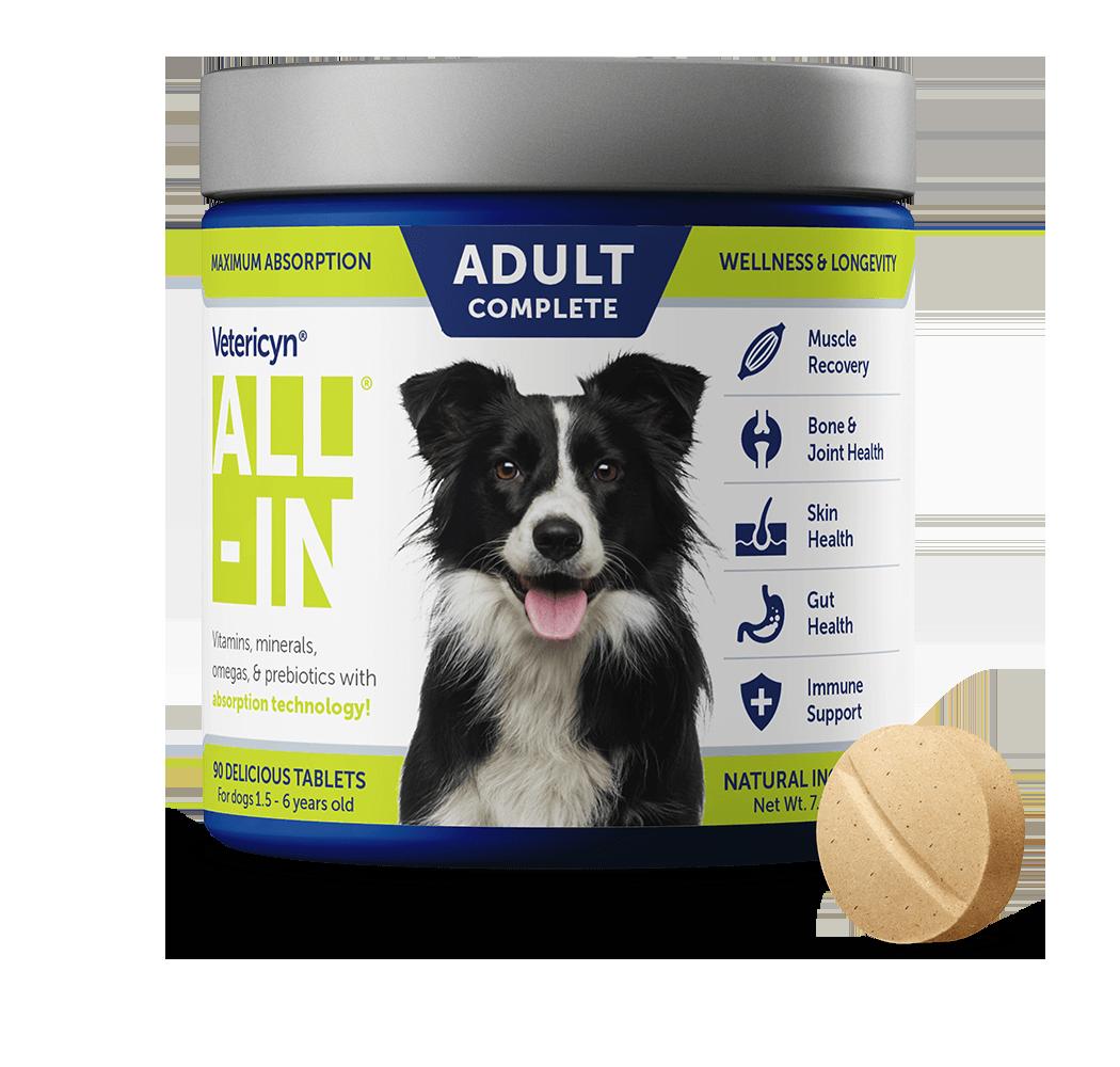 Vetericyn ALL-IN Volwassen Hondensupplement