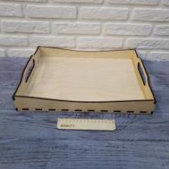 Поднос из фанеры 6мм, 40х30 см