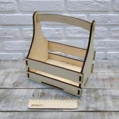 Подарочный ящик-корзинка, 20х15х25 см