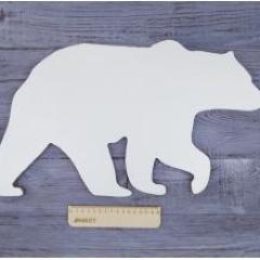 Арт-борд медведь, 48х27 см