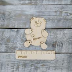 Фигурка медведь, 13х10 см