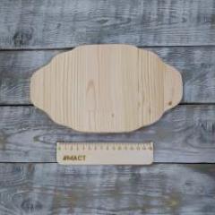 Табличка фигурная, 25х15 см