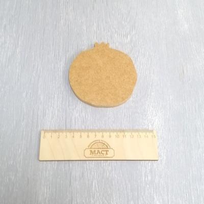 Артборд Гранат, 17х15 см мдф 8мм не ламин.