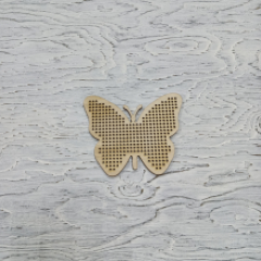 Основа для вышивания бабочка, 10х11 см