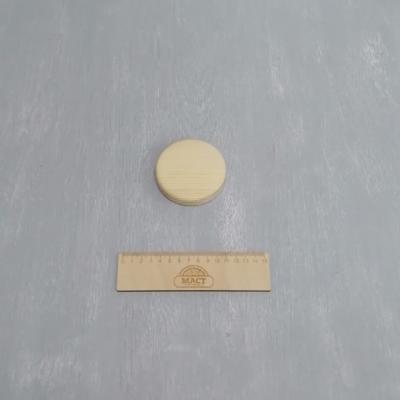 Круглая подставка 8 см сосна