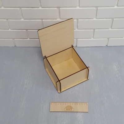 Коробочка быстросборная 17х17х8 см
