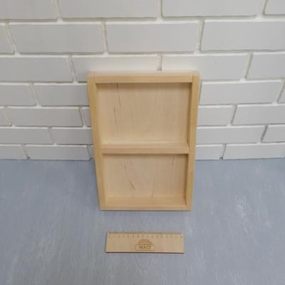 Коробочка для набора 30х20х3 см 2 отдел