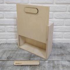Коробка для подарков пенал, 25х25х8 см