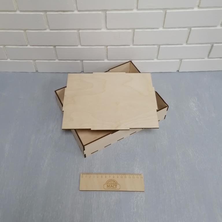 Коробочка 26х20х6см фанера 4