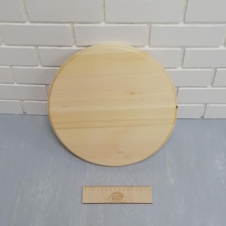 Доска круглая фигурная  30см
