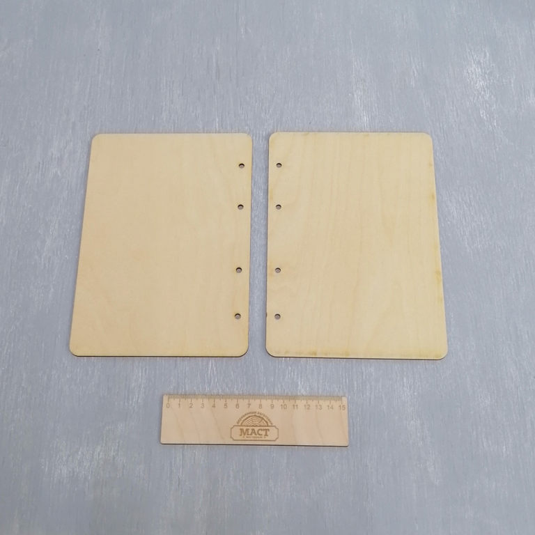 Обложка для блокнота под кольца А5 16х23 см