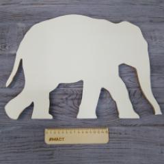 Арт-борд Слон, 40х30 см