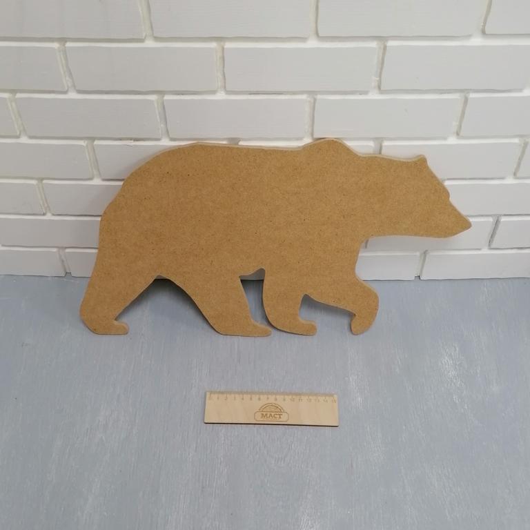 Артборд медведь 48см мдф не ламин.