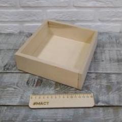 Коробочка без крышки, 20х20х6 см