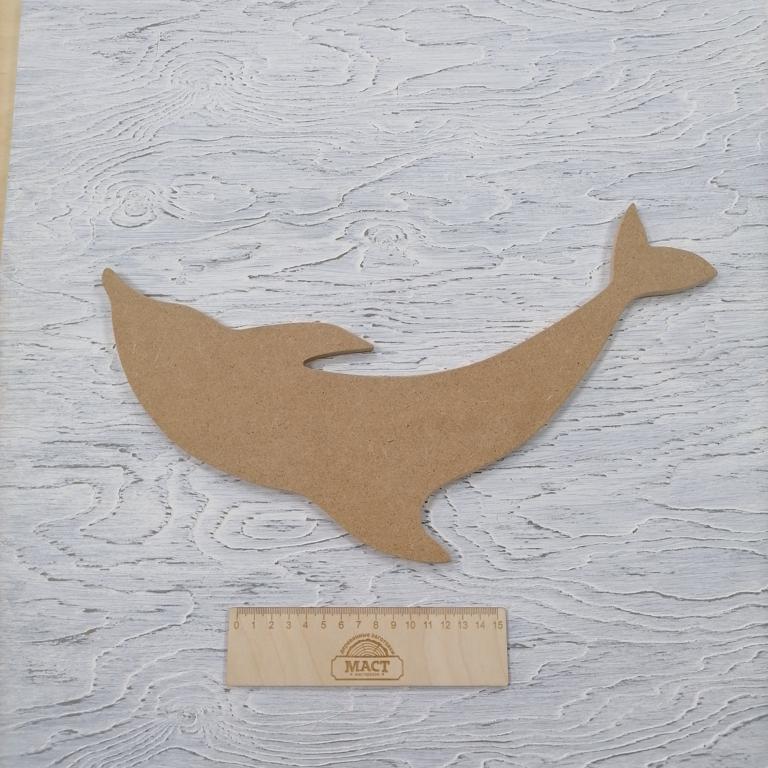 Артборд Дельфин 40 см МДФ не ламин.