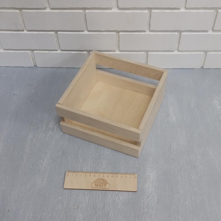 Ящик реечный, 20х20х10 см фанера 10
