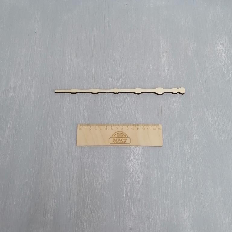Волшебная палочка 30 см фанера 6