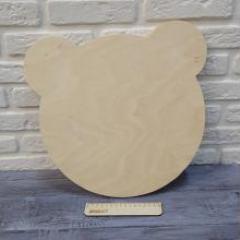 Основа для зеркала мишка, 38х35 см