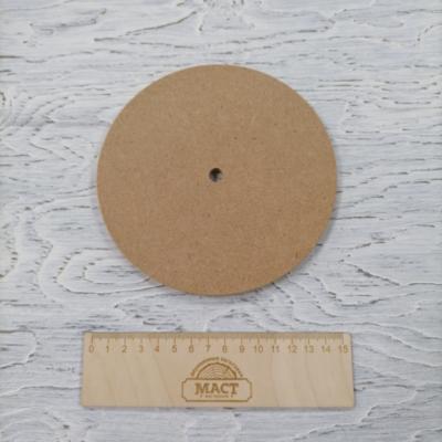 Циферблат 15 см МДФ не ламин.