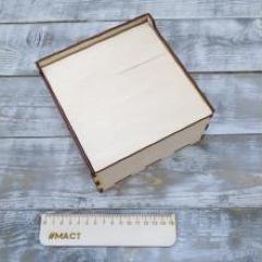 Коробочка с крышкой, 15х15х8 см