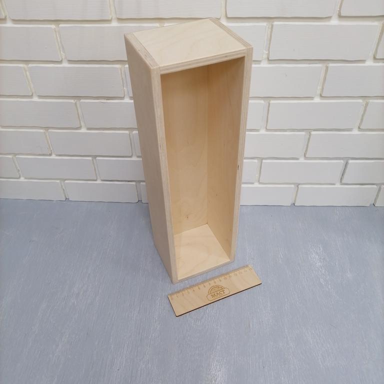 Ящик без крышки 40х12 см фанера 10