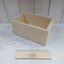 Ящик без крышки 20х12 см фанера 10мм