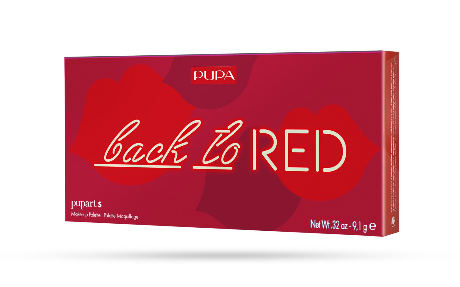 Pupa Palette Back to RED