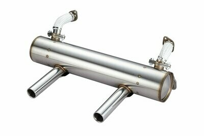 KARMANN GHIA AND EXTREME LOWERED VW BUG CLASSIC SPORT EXHAUST SYSTEM 50/35