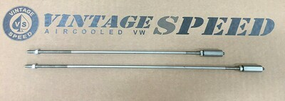 ONE PAIR OF STAINLESS STEEL LINKAGE RODS