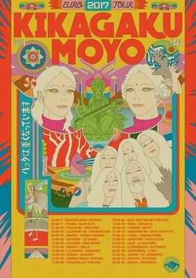Kikagaku Moyo: Euro Tour 2017